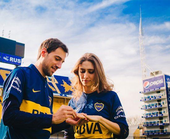 Ceremonia en Estadio de Futbol