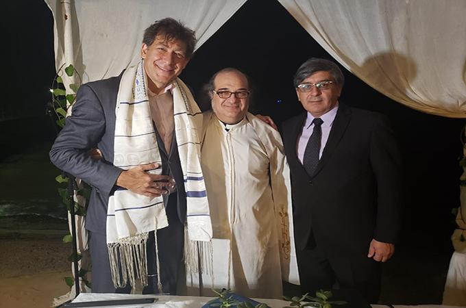 Ceremonia Compartida judeo-católico-evangélica